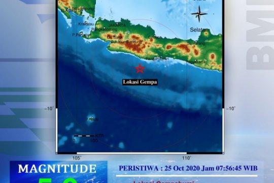 """Gempa """"intraplate"""" di Pangandaran, merusak dan dirasakan hingga  jauh"""