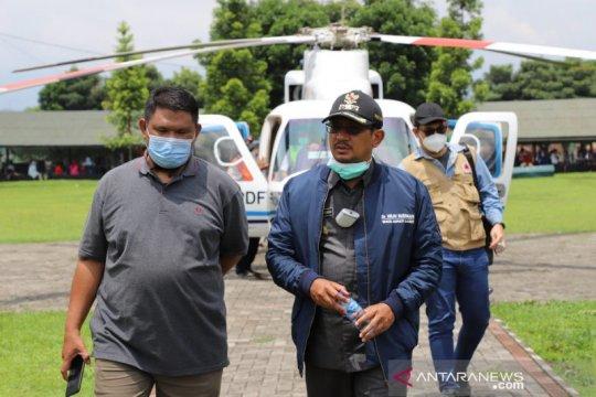 BNPB periksa kondisi hutan rusak penyebab banjir di Garut