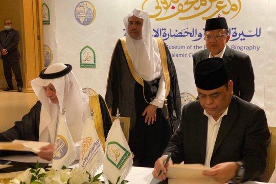 Kerja sama pembangunan Museum Sejarah Rasulullah SAW ditandatangani