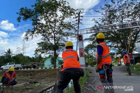 PLN Kalbar resmikan kemandirian energi di perbatasan RI-Malaysia
