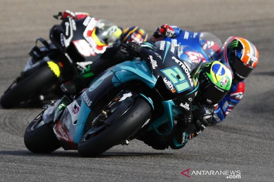 Franco Morbidelli juara MotoGP Teruel 2020