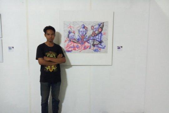 Mahasiswa Undiksha Bali lolos pameran seni rupa di Prancis-Jerman