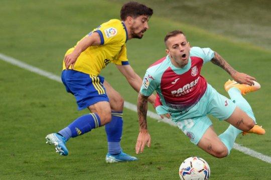 Villarreal ditahan seri Cadiz 0-0, sia-siakan peluang ke puncak
