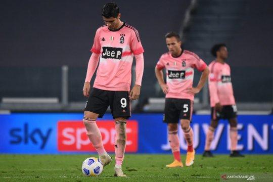 Juventus kembali gagal petik tiga poin setelah ditahan imbang Verona