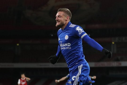 Rodgers sebut Vardy jadi pembeda saat Leicester kalahkan Arsenal