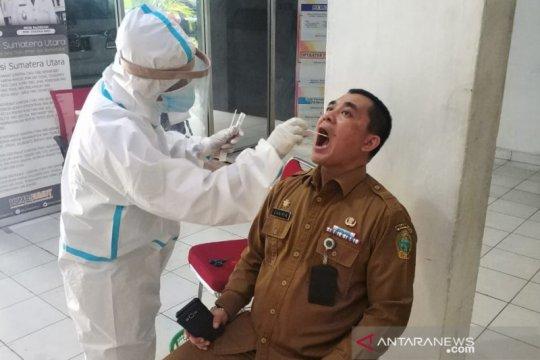 Dinsos Sumut gelar swab test setelah seorang staf meninggal