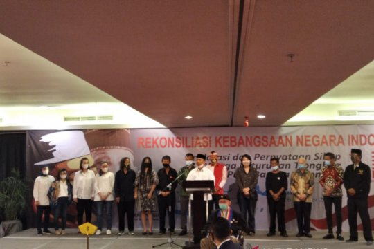Rekonsiliasi GMRI jadi momentum pengikat Persatuan dan Kesatuan