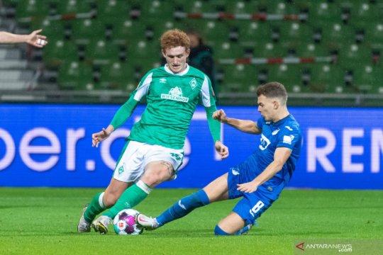 Bremen kembali gagal menang setelah ditahan imbang Hoffenheim
