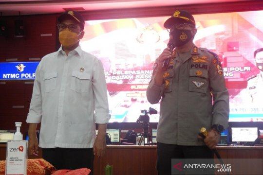 Operasi Zebra Kakorlantas ajak warga disiplin taati prokes