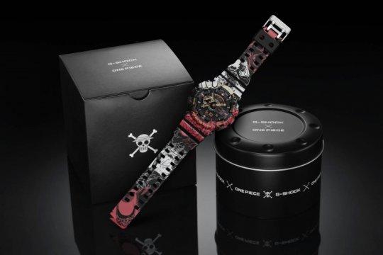 G-SHOCK - One Piece berkolaborasi jam tangan terbatas cuma 104 unit