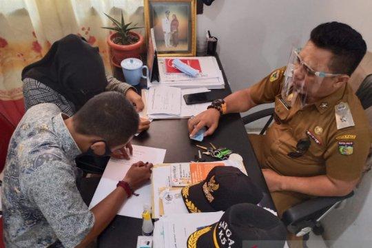 12 ABG pelaku mesum di Kota Palu diberi pembinan dan surat pernyataan