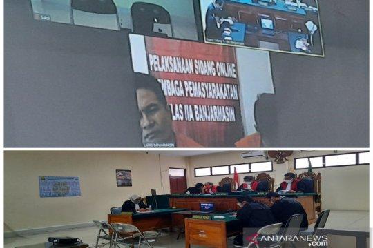 Hakim vonis seumur hidup terdakwa 32 kg narkotika di Banjarmasin
