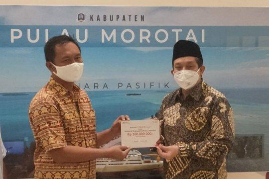 Trayek tol laut di Pulau Morotai beri manfaat