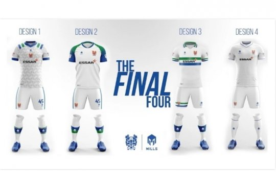 Mills Apparel konfirmasi pembuatan jersey Tranmere Rovers