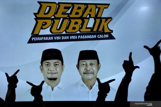 Debat publik calon tunggal bupati dan wakil bupati Gowa