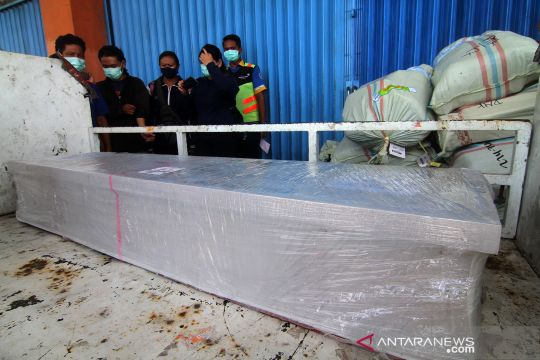 Kedatangan jenazah pekerja migran Indonesia dari Malaysia