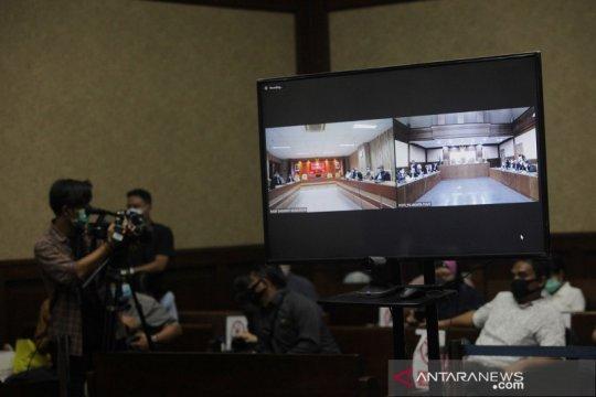 Sidang virtual vonis kasus dugaan korupsi Jiwasraya
