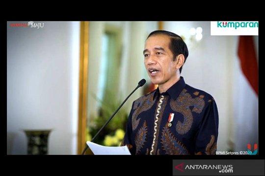 Presiden: UU Cipta Kerja jadi jalan reformasi struktural bagi UMKM