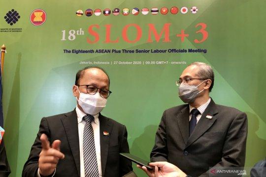 SLOM+3 sepakat peningkatan kerja sama ASEAN bidang ketenagakerjaan