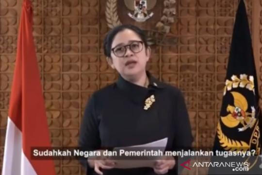 Rapat Paripurna DPR, Puan paparkan lagi sejumlah RUU prioritas