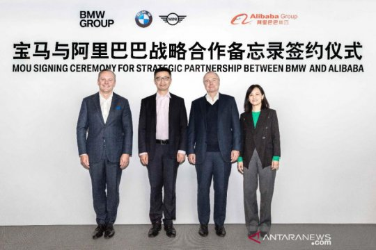 Gandeng Alibaba, BMW percepat transformasi digital
