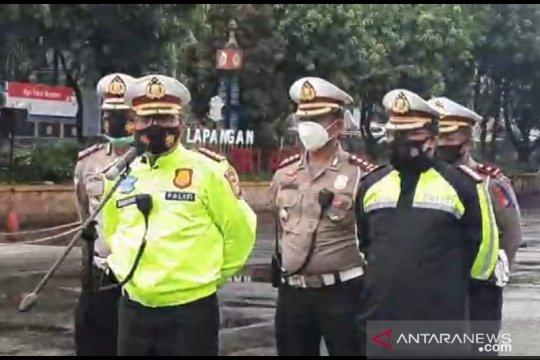 Polisi prediksi puncak arus liburan berlangsung hingga Rabu pagi
