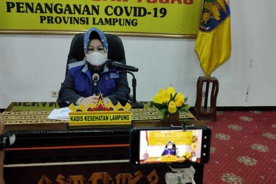 Jumlah kasus COVID-19 di Lampung bertambah menjadi 1.686