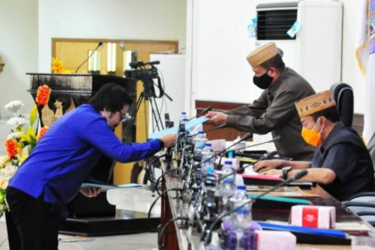 Tujuh fraksi DPRD Gorontalo setujui Raperda APBD 2021