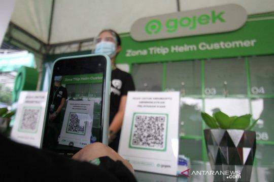 Gojek perluas zona J3K dan penitipan helm pribadi di stasiun KRL