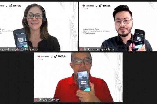 TikTok dan Telkomsel kolaborasi tingkatkan literasi digital