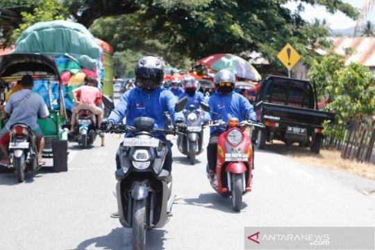 """Yamaha """"Fun Touring Generasi 125"""" jajal wisata Dulamayo"""