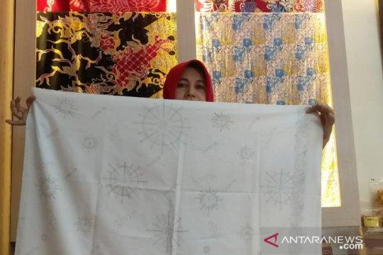 Batik motif corona Jember mulai diminati pasar