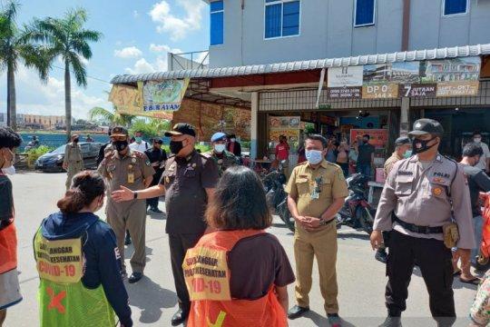 93 warga Batam terjaring razia masker