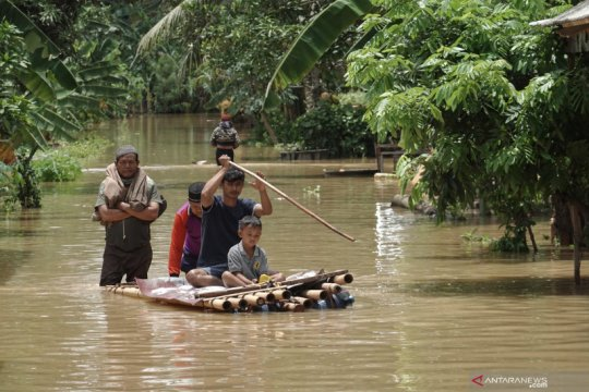 BMKG: Curah hujan di Cilacap meningkat 100 persen lebih akibat La Nina