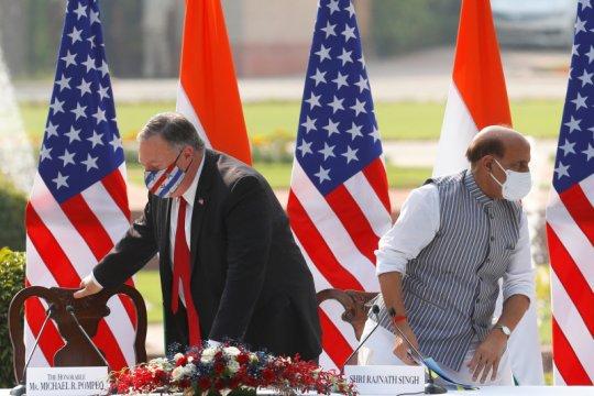 Pompeo: AS dan India harus fokus hadapi ancaman China