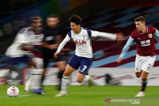 Gol tunggal Son Heung-min bawa Tottenham kalahkan Burnley