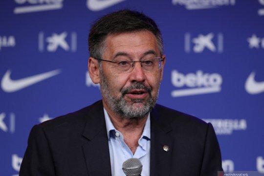 Presiden Barca Josep Maria Bartomeu resmi mengundurkan diri