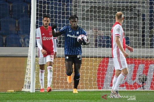 Dwigol Duvan Zapata selamatkan Atalanta dari kekalahan kontra Ajax