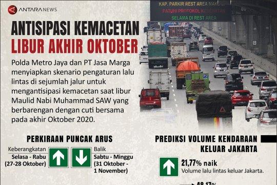 Antisipasi kemacetan libur akhir Oktober