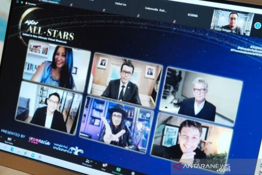 Kemenparekraf dukung AXN All-Stars gelar hiburan virtual saat pandemi