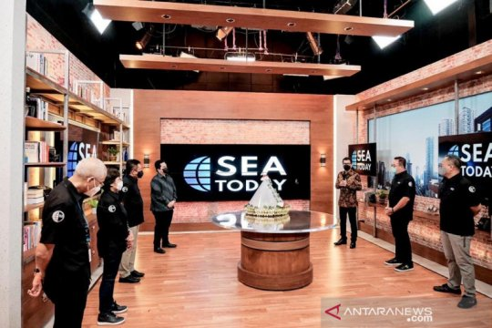 Menparekraf harap saluran TV SEA Today turut promosikan pariwisata RI