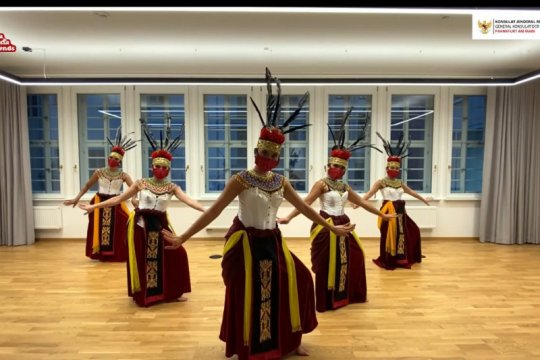 KJRI Frankfurt gelar seni budaya di Hari Sumpah Pemuda