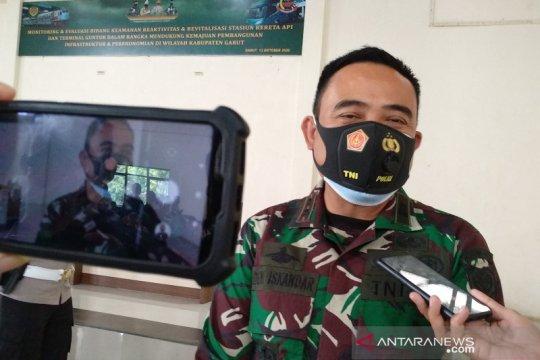 305 prajurit TNI disiagakan di objek wisata Garut selama libur panjang