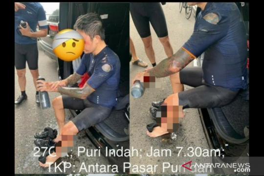 Polisi respon cepat kasus pesepeda dibegal di Kembangan