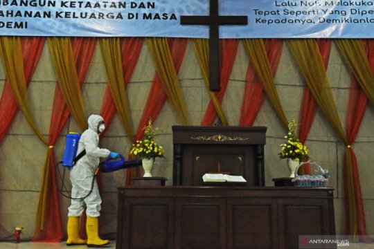 Cegah penyebaran COVID-19 di tempat ibadah