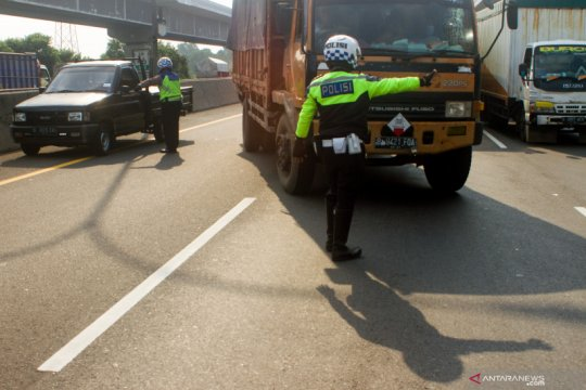 Rekayasa lalu lintas di Tol Jakarta - Cikampek