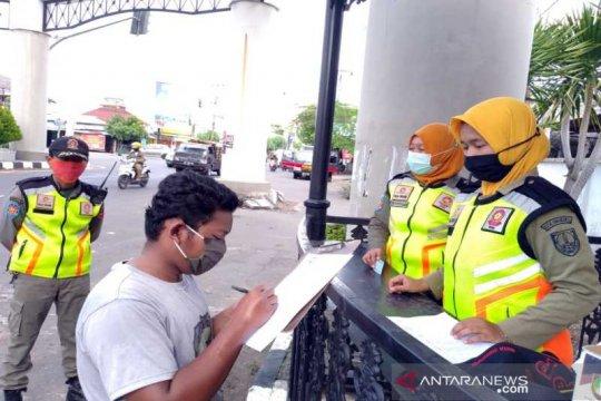 Tim gabungan Surakarta jaring 24 pelanggar protokol kesehatan