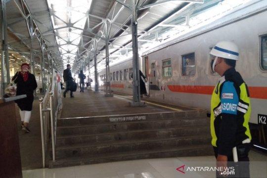 Penumpang di Stasiun Solobalapan meningkat pada libur panjang