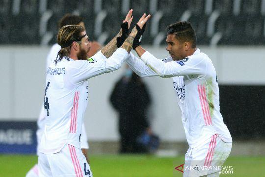 Liga Champions: Casemiro selamatkan Madrid dari kekalahan