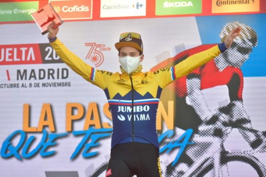 Primoz Roglic juarai etape delapan Vuelta a Espana